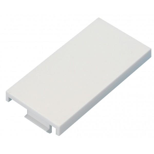 Blanking Plate Half Blank Euro White