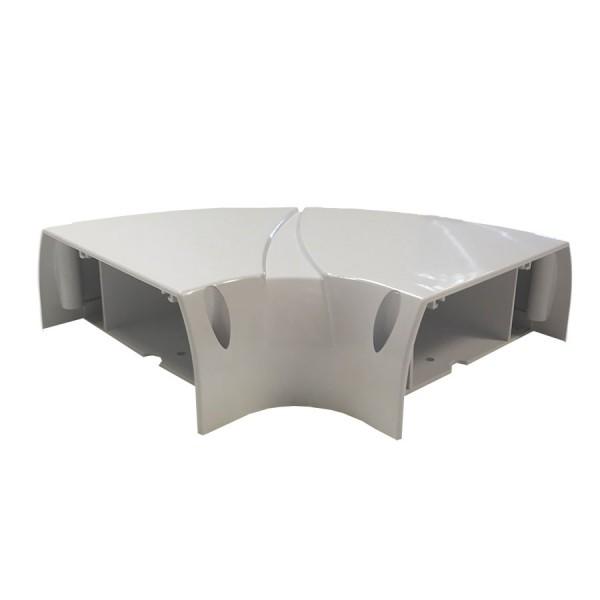 Dado Trunking Ultimate 60 Flat Angle White
