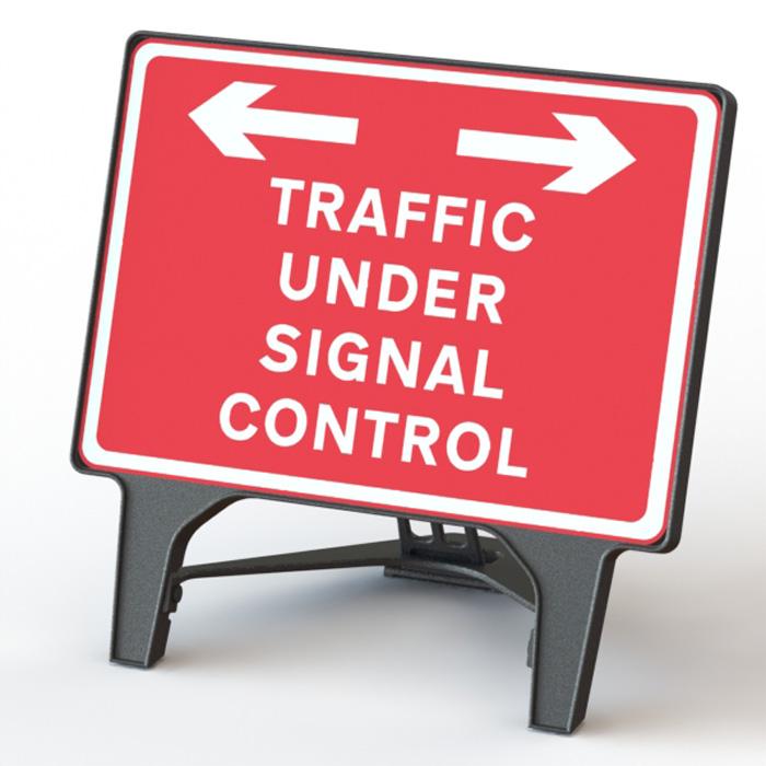 Q' Sign Traffic Under Signal Control