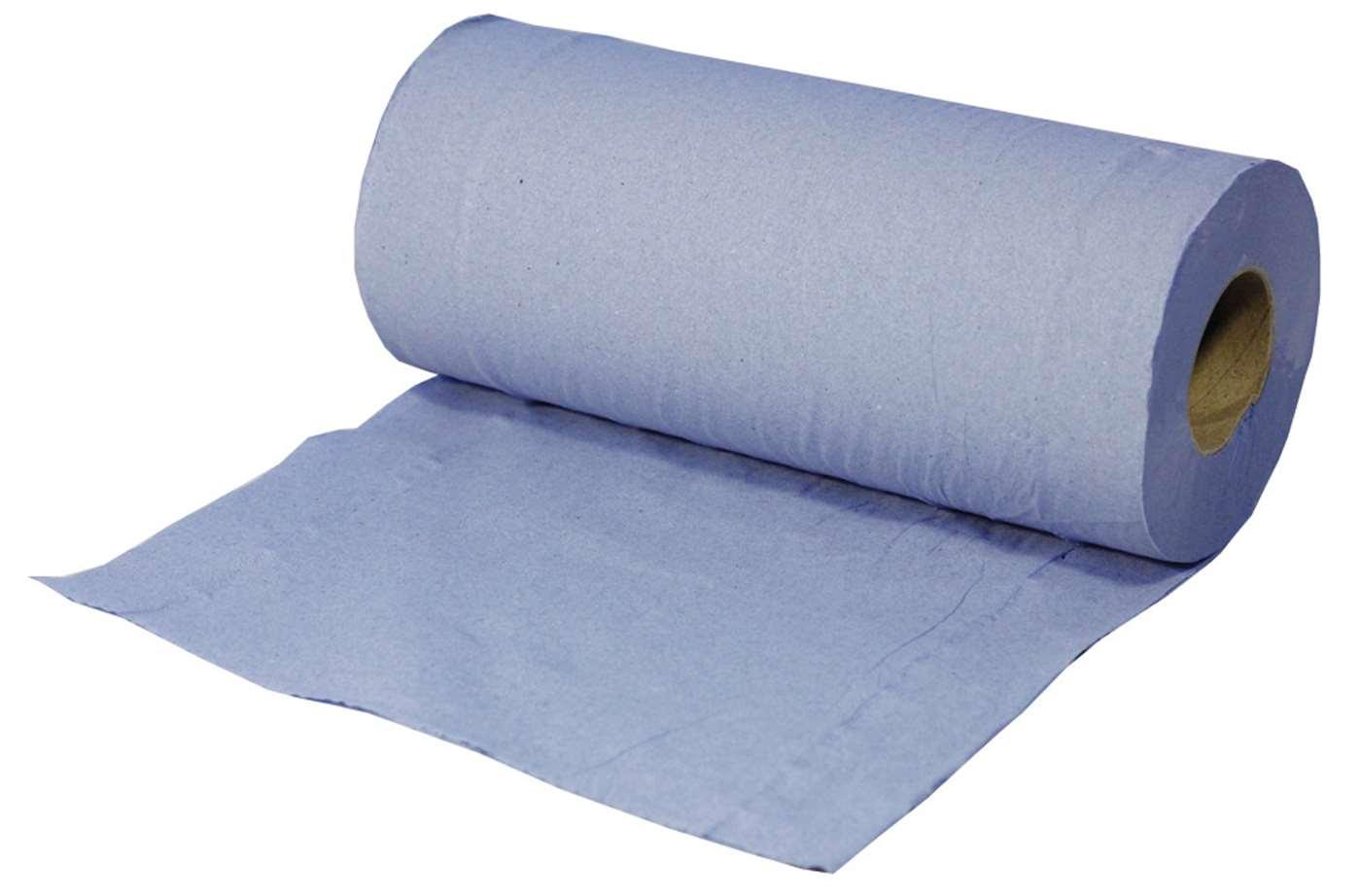 Paper Towel 2 Ply Blue (W) 250mm x (L) 40Mtr Sheets per Roll 88