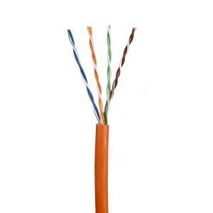 Cat5E Data Cable Stranded U/UTP PVC 4 Pair Orange 305m