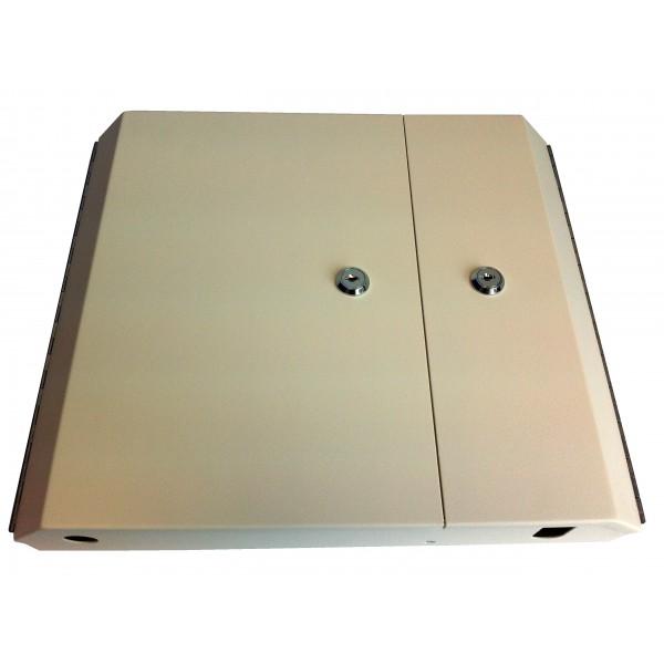 Fibre Optic Breakout Box Lockable 24 Way Double MM ST Simplex