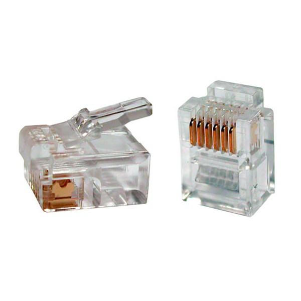 RJ12 Modular Plug (each)
