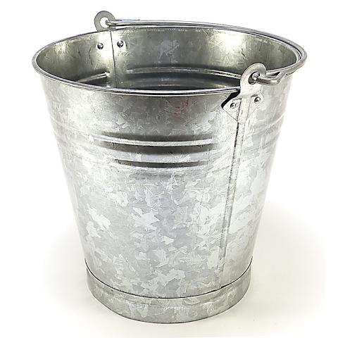 Bucket Galvanised 7L