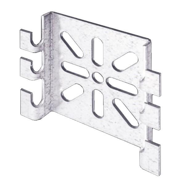 Basket Tray Wall Mount Bracket Pre-Galvanised AMWP60 Use M8 Fixings