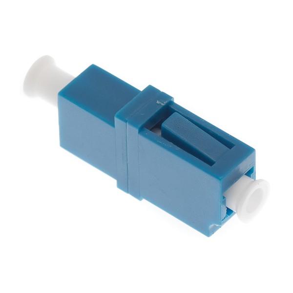 Fibre Optic Adaptor LC Simplex SM Ceramic Blue