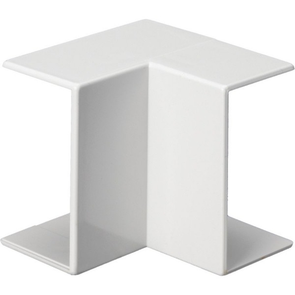 Trunking Midi Internal Angle PVC White (H) 50mm x (D) 50mm