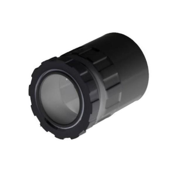 Conduit Male Adaptor PVC Black (Dia) 25mm