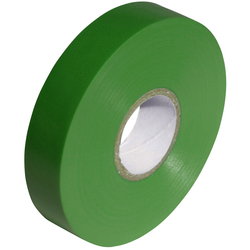 Tape PVC Green 19mm x 20m