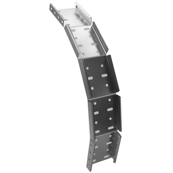 Cable Tray Riser Medium Duty Pre-Galvanised AMDIO18 (W) 450mm x (D) 25mm