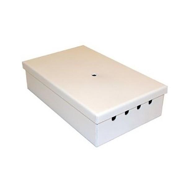 Fibre Optic Breakout Box Tamper Proof 4 Way MM LC Duplex