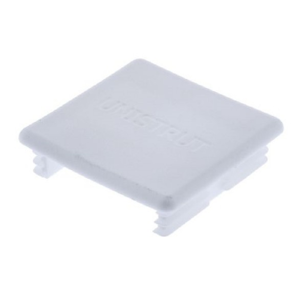 Channel Strutting End Cap PVC 1394196 White (H) 41mm