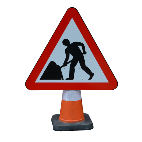 Roads Signs Cone Style 750mm