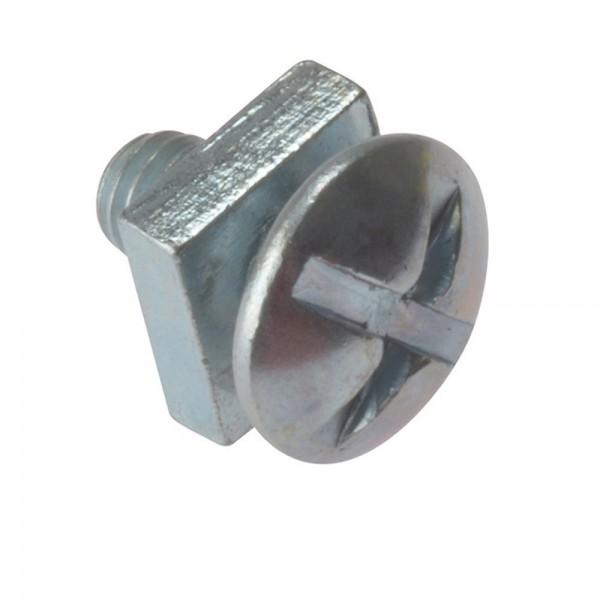 Roofing Bolt (c/w Nut) M6 BZP (L)12mm