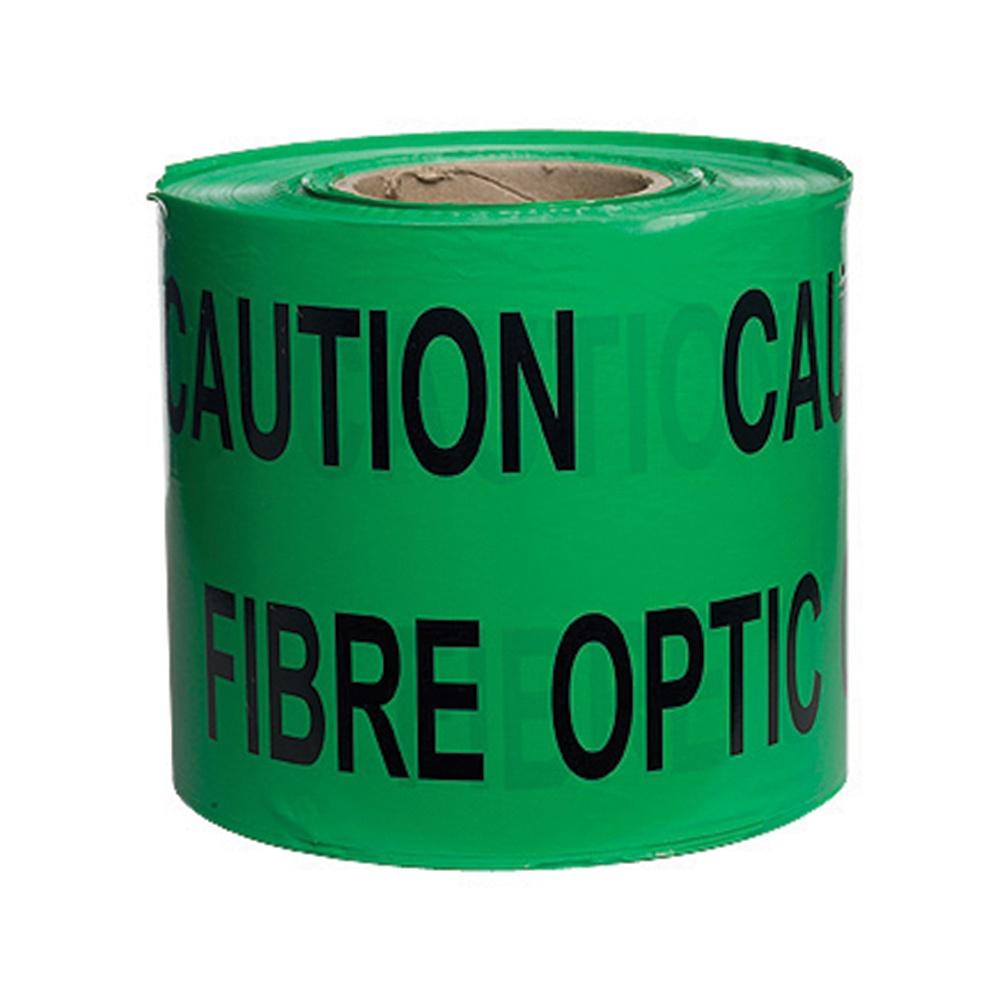 Tape Caution Fibre Optic Cable Below