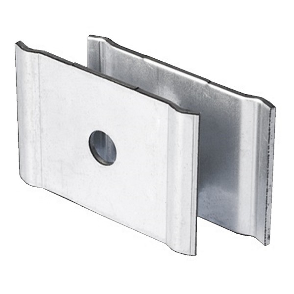 Basket Tray Clamp Central Support Pre-Galvanised AMCSH/2 Hole Size M8