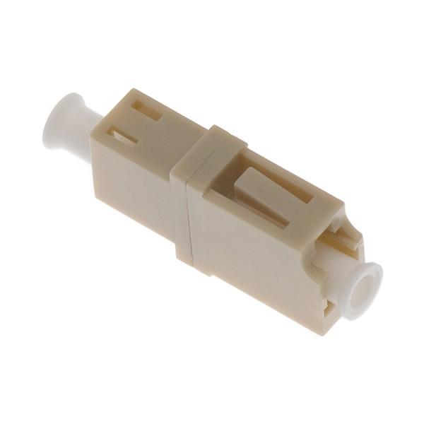 Fibre Optic Adaptor LC Simplex MM Ceramic Beige