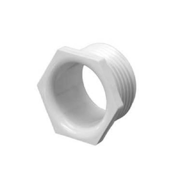 Conduit Male Bush PVC White (Dia) 20mm