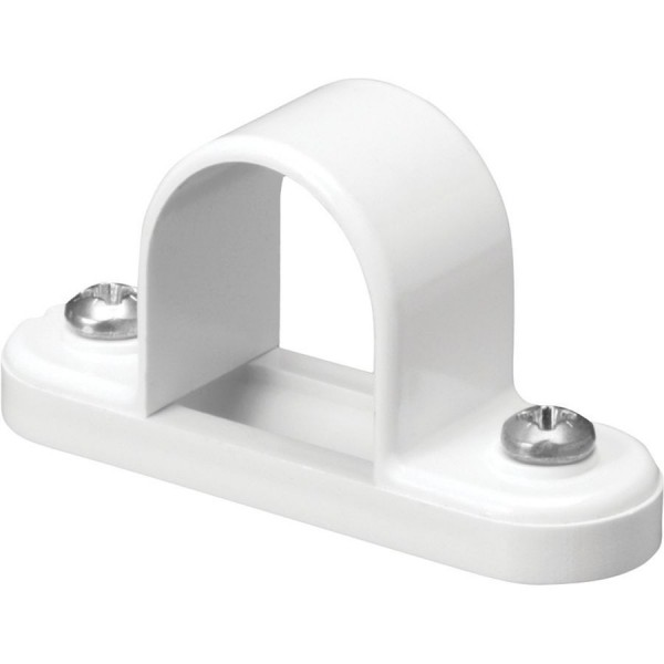Conduit Space Bar Saddle PVC White (Dia) 20mm