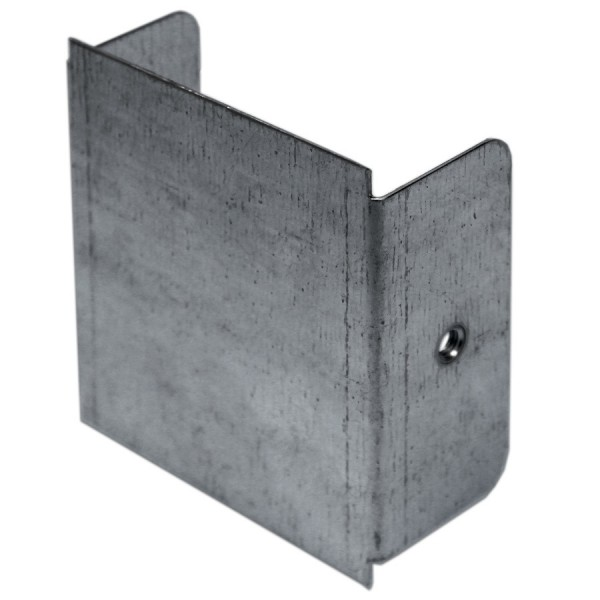 Trunking End Cap Pre-Galvanised ABE22 (H) 50mm x (W) 50mm