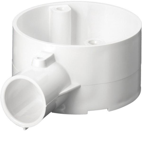 Conduit Terminal Box Circular Junction No Lid PVC White (Dia) 25mm