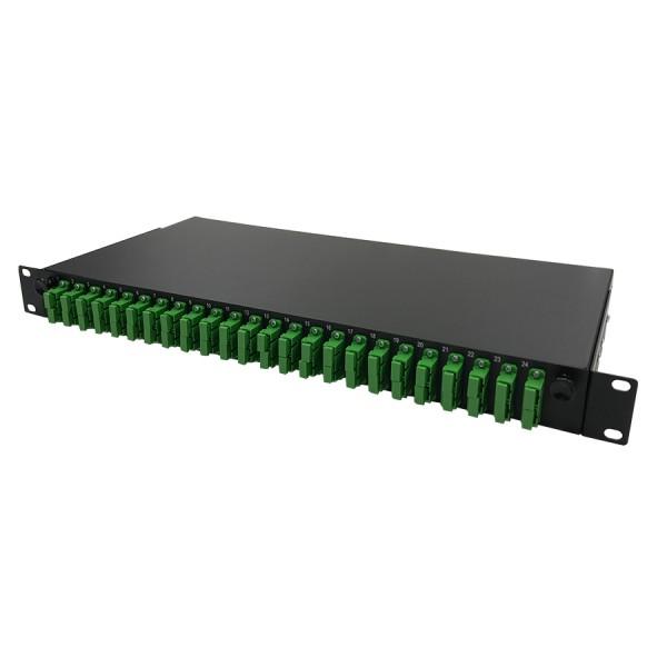 Fibre Patch Panel SC/APC SM 48 Way Duplex