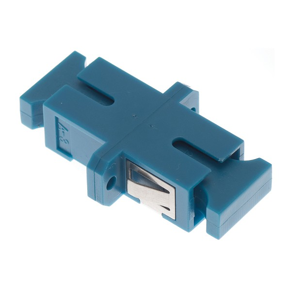 Fibre Optic Adaptor SC Simplex SM Ceramic Blue