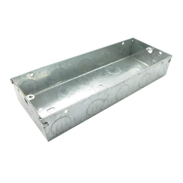 Pattress Box Custom Steel Flush Mount (D) 47mm