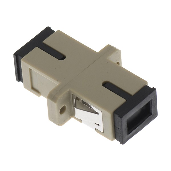Fibre Optic Adaptor SC Simplex MM Bronze Beige