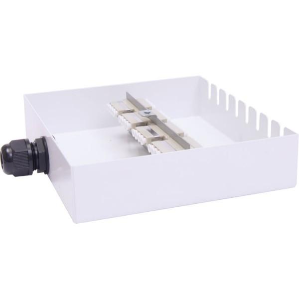 Fibre Optic Breakout Box Tamper Proof 16 Way MM SC Duplex