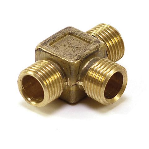 Connector Compression No.1 1/4″ x 1/4″ x 1/4″ Tee