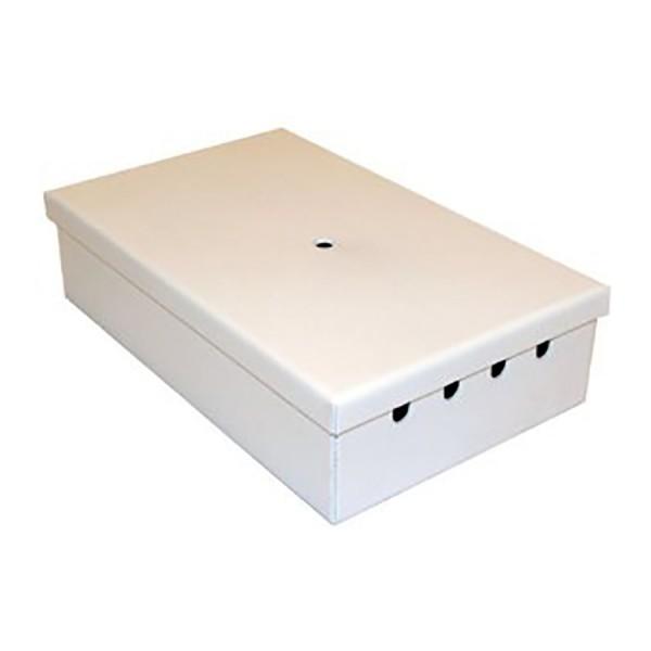 Fibre Optic Breakout Box Tamper Proof 4 Way SM ST Simplex