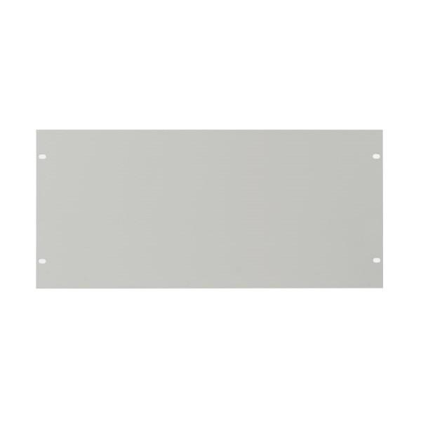 Blanking Panel Plain 5U 19″ Grey
