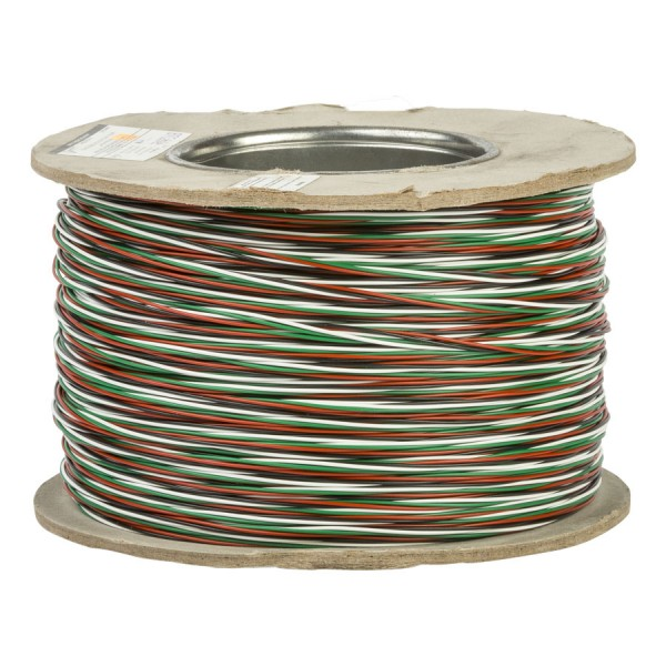 Jumper Wire CW1321 2 Pair Green/White/Red/Black (L)200Mtr