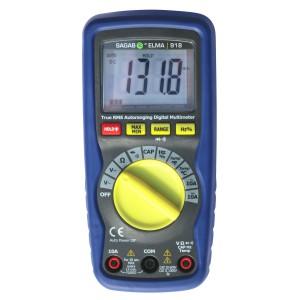 Digital Multimeter Elma 918 Professional True RMS Multimeter with Temperature 1000V AC/DC 0-60MOhm