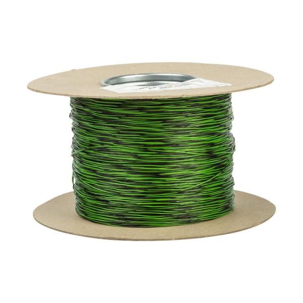 Jumper Wire CW1321 1 Pair Black/Green (L)500Mtr