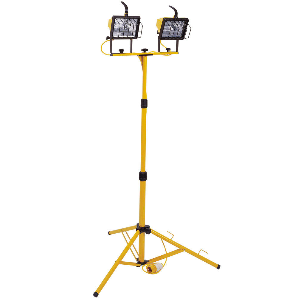 Telescopic Tripod Light 500w Twin