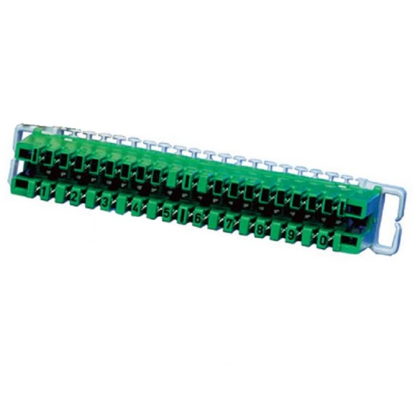 Strips Disconnection 237A 10 Pair IDC Green