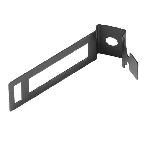 Safe-D Conduit Clip Fire-Rated Coated Steel Black (Dia) 25mm