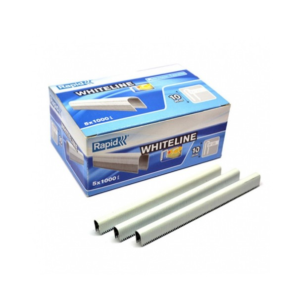 Galvanised Staples R36 White 14mm