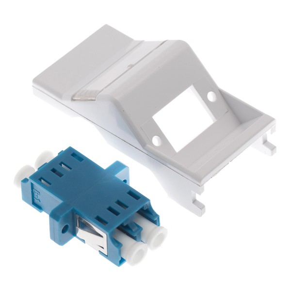 Fibre Adaptor Module Simplex SM LC Euro Angled