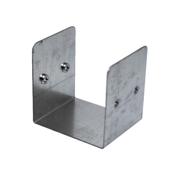 Trunking Internal Coupler Short Pre-Galvanised ASCC33 (H) 75mm x (W) 75mm