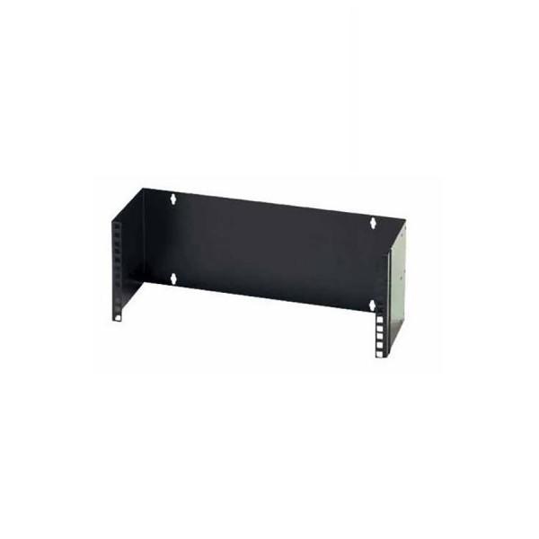 Hinged Wall Bracket Black (H) 2U x (D) 225mm