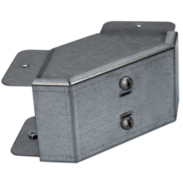 Trunking Bend Outside Lid Pre-Galvanised 90 Degree AGBO22 (H) 50mm x (W) 50mm