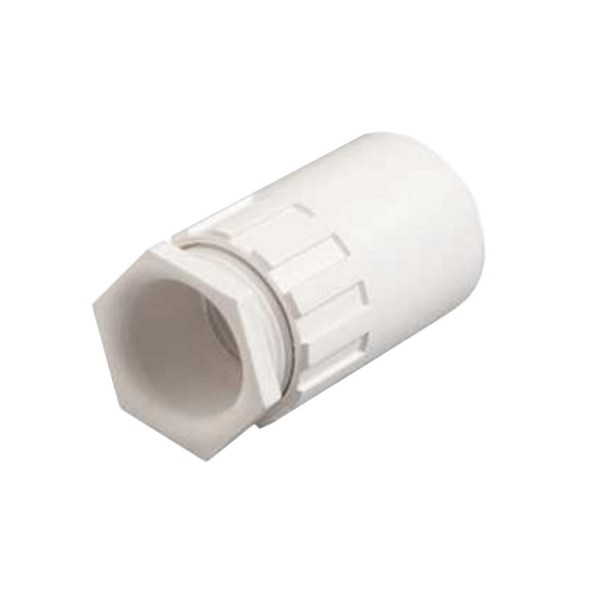 Conduit Female Adaptor PVC White (Dia) 25mm
