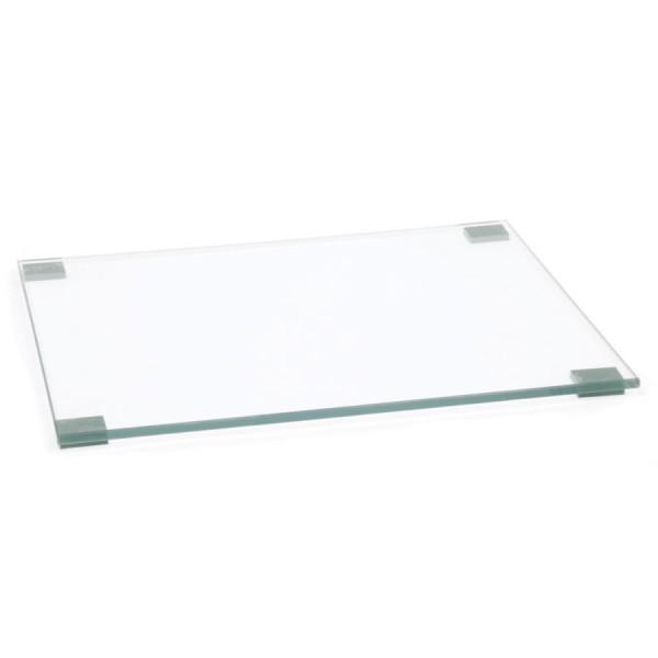 Polishing Plate Glass Clear (W) 100mm x (L) 240mm Thickness 6mm