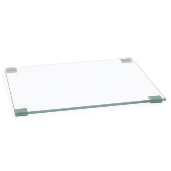 Polishing Plate Glass Clear (W) 250mm x (L) 300mm Thickness 6mm