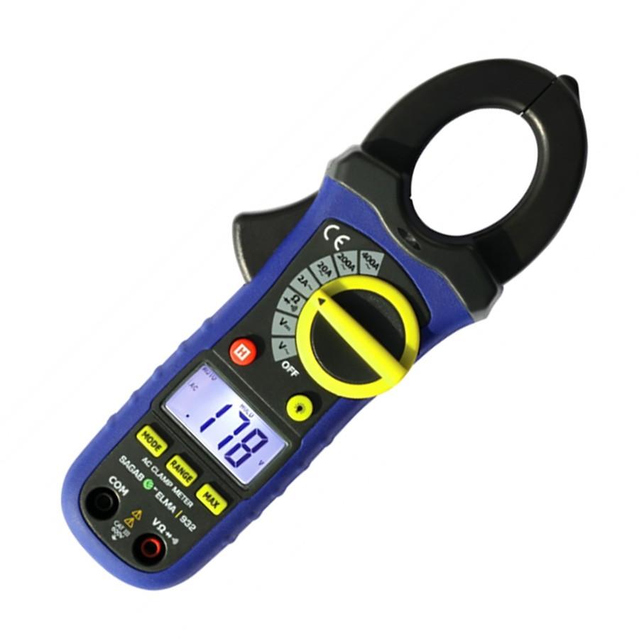 Clamp Meter Elma 932 400A AC 0-600V AC/DC 0-20MOhm