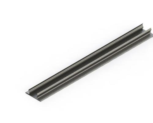 Lighting Support Closure Strip PVC P1184-PW White (D) 41mm x (L) 3m