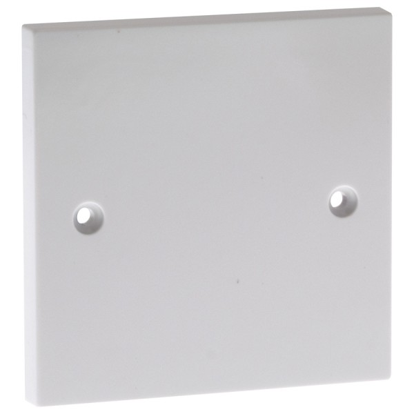 Blanking Plate Single Gang White (H) 86mm x (W) 86mm